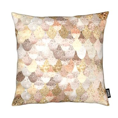 Mermaid Gold Cushion