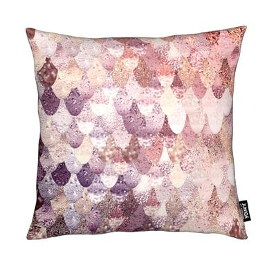 Mermaid Rosegold Cushion