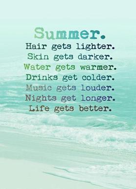 Summer canvas doek