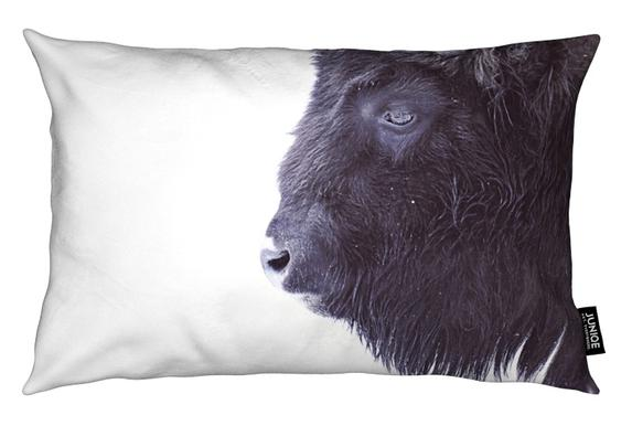 Black Buffalo Kissen
