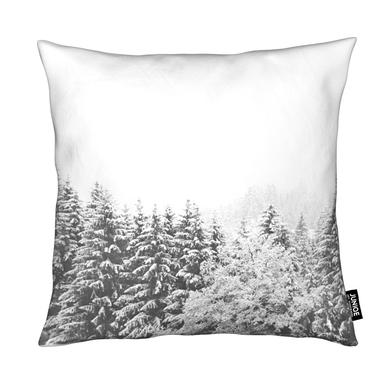Winter In the Mountains Coussin