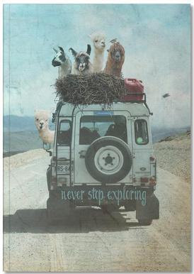 Never Stop Exploring II Carnet de note