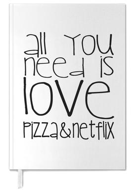 All You Need And Pizza And Netflix Personal Planner