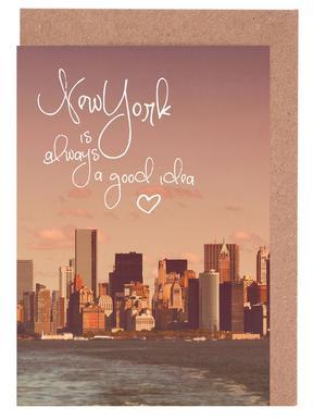 New York Is Always a Good Idea Set de cartes de vœux