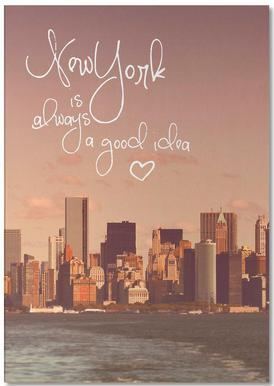 New York Is Always a Good Idea Bloc-notes