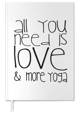 All You Need And Yoga Personal Planner