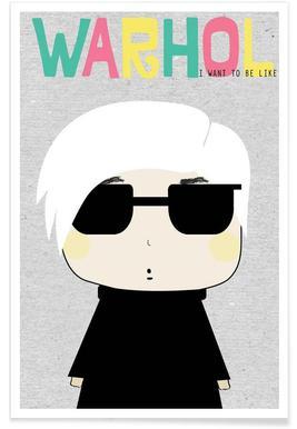Little Warhol Poster
