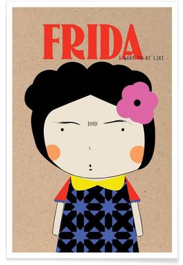 Little Frida Poster