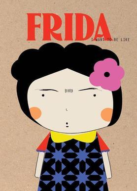 Little Frida Canvas Print