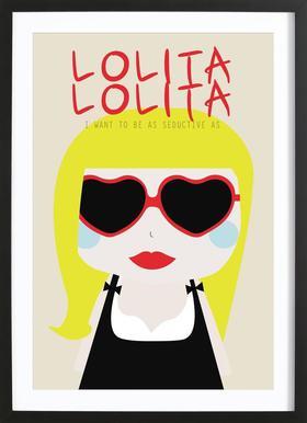 Little Lolita Framed Print