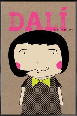 Little Dalí Framed Poster