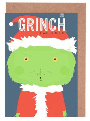 Little Grinch Set de cartes de vœux