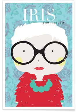 Little Iris Poster