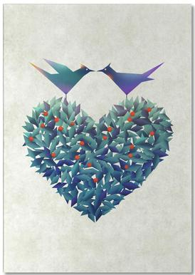 Love Birds Bloc-notes