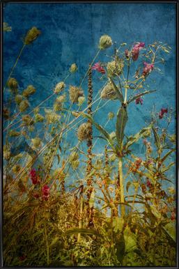 Heat Flowers Poster in Standard Frame
