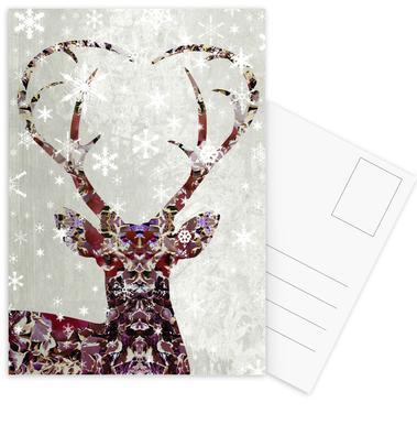 Snow Deer ansichtkaartenset