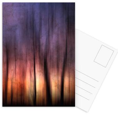 A Blurred Sunset Preview Set de cartes postales