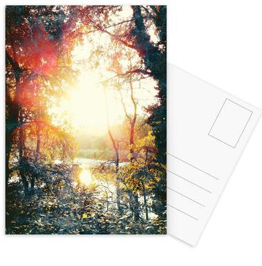 Sunset Gift Set de cartes postales