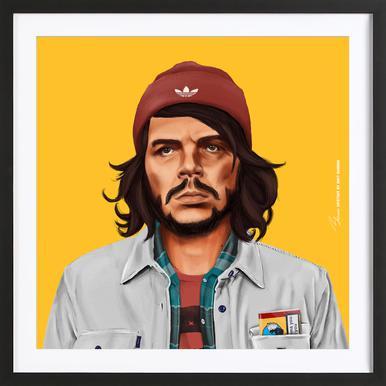 Che Poster in houten lijst