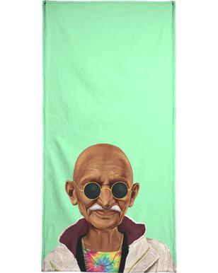 Gandhi  Serviette de plage