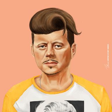 Kennedy Canvas print