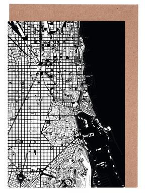 Barcelona Black & White wenskaartenset