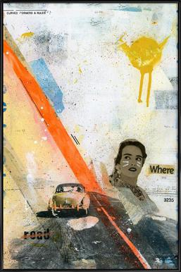Road Framed Poster