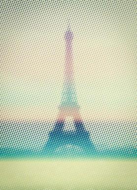 Eiffeltower toile