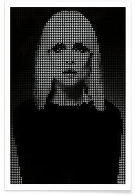 Heart Of (Black Version) Poster