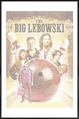 The Big Lebowski ingelijste poster