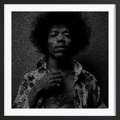 Buy Framed Jimi Hendrix Prints And Art Online