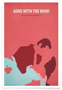 Gone with the Wind Affiche