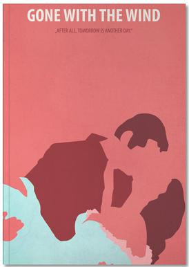 Gone with the Wind Carnet de note