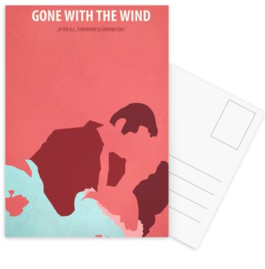 Gone with the Wind cartes postales