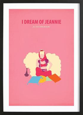I dream of Jeannie Framed Print