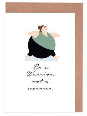 Yoga greeting cards juniqe yoga 4 maria kritzas greeting card set m4hsunfo