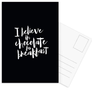 I Believe Postcard Set