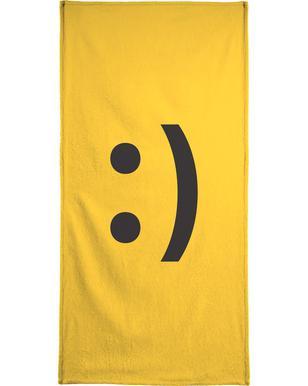 Smiley Serviette de bain
