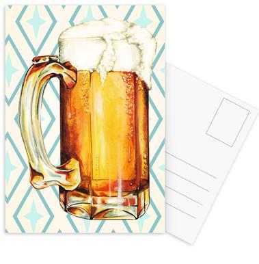 Beer Ansichtkaartenset
