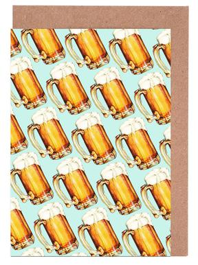 Beer Pattern As Fleece Blanket By Kelly Gilleran | JUNIQE