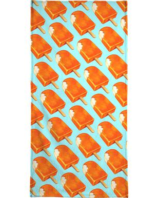 Creamsicle Pattern Kelly Gilleran Beach Towel