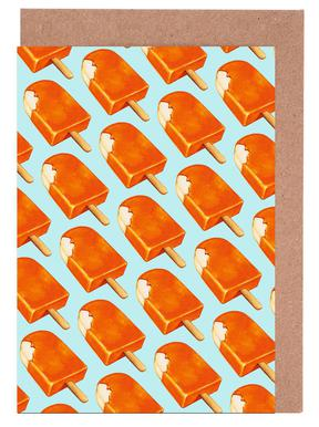 Creamsicle Pattern Greeting Card Set