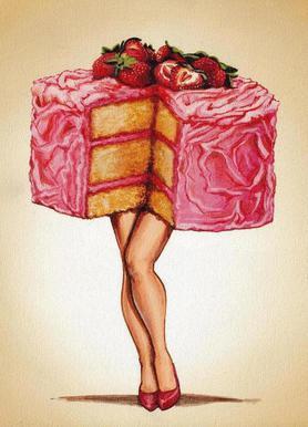 Hot Cakes Canvas Print