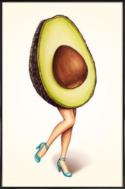 Fruit Stand - Avocado Framed Poster