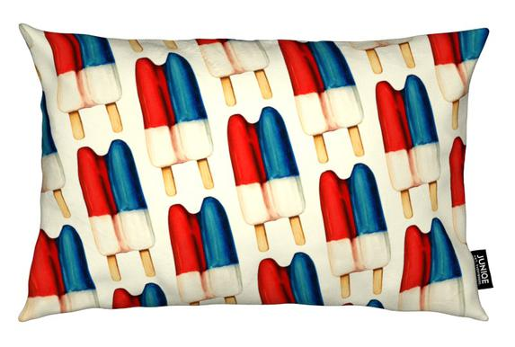 Double Popsicle Pattern Cushion