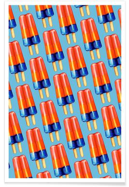 Rainbow Double Popsicle Poster