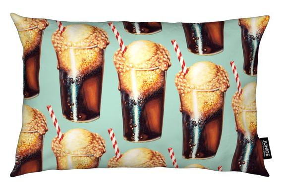 Rootbeer Float Pattern Cushion