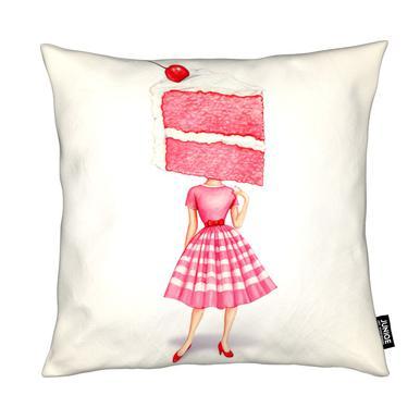 Cake Heads Cherry Cushion