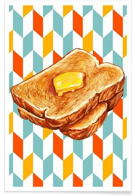 Buttered Toast Poster