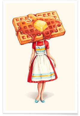 Waffle Housewife Poster